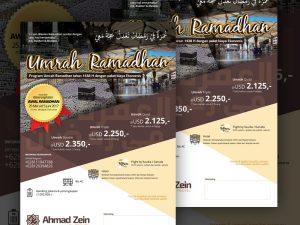 Brosur Umroh Ahmad Zein Travel