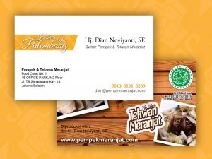 Pempek Meranjat - Businness Card